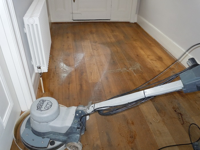 Rotary Floor Cleaning