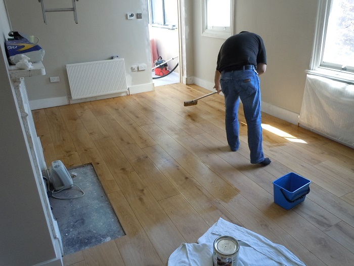 Wood Floor Finishing