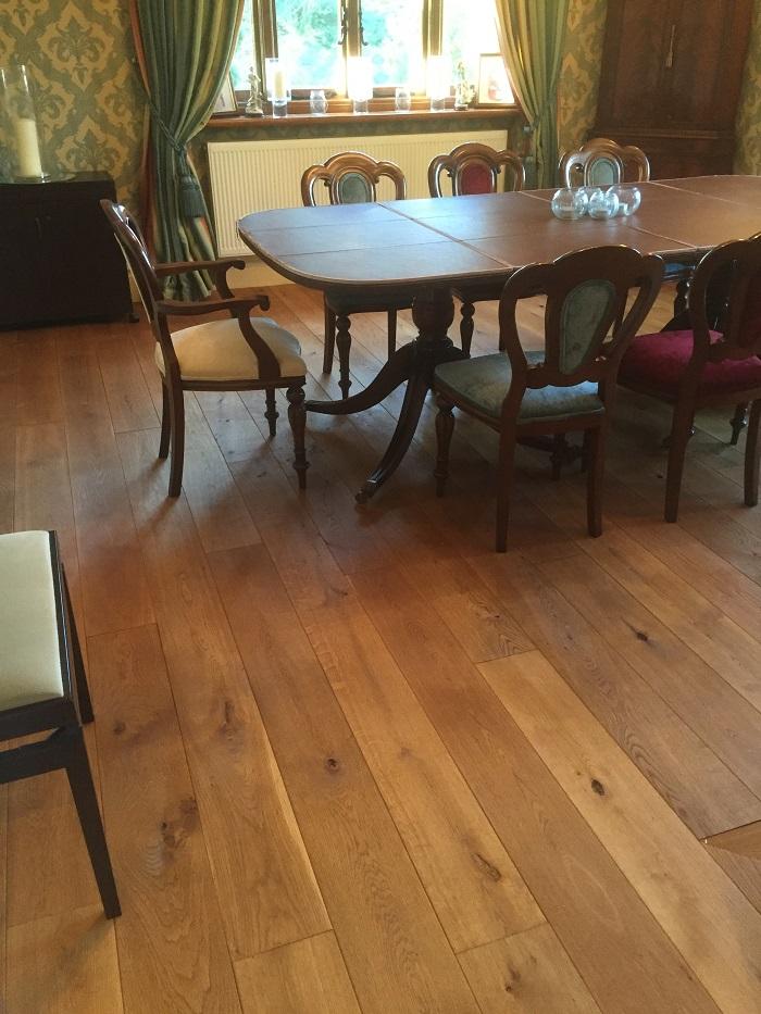 Oiled Oak Floor