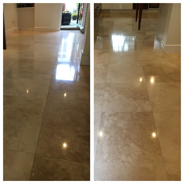 Limestone Floor Polishing