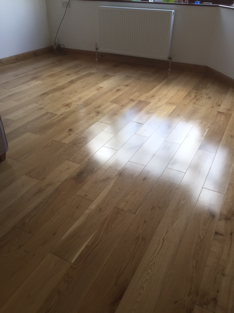 Cleaned And Lacquered Wood Floor Essex