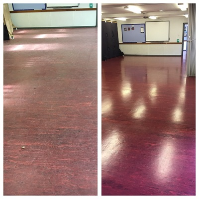 Commercial Floor Cleaning, does your floor look good?